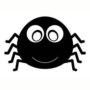 Máscara de Araña para imprimir