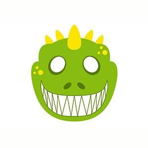 Máscara de Dinosaurio para imprimir