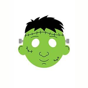 Máscara de Frankenstein para imprimir