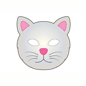 Máscara de Gatito para imprimir
