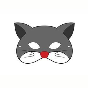 Máscara de Gatito imprimir