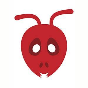 Máscara de Hormiga para imprimir