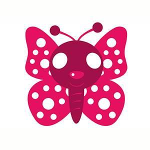 Máscara de Mariposa para imprimir