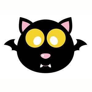 Imprimir máscara de Murcielago