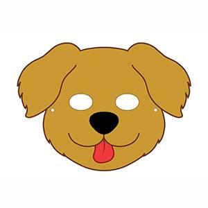 Imprimir máscara de Perro